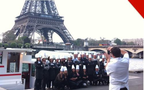 cours cuisine entreprise sur la Seine à Paris